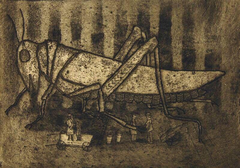Reuzensprinkhaan