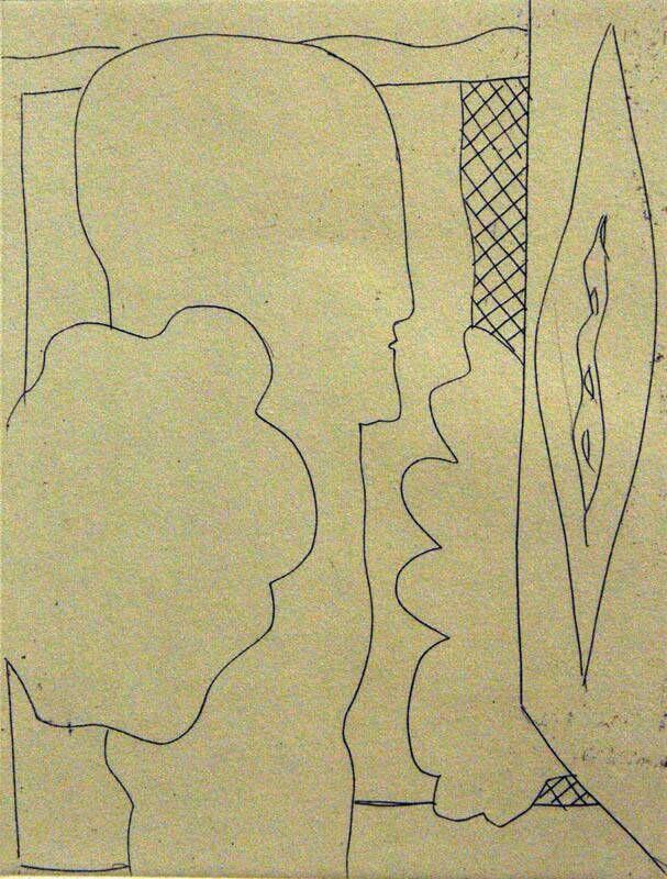 Radierungen zu siebzehn Gedichten von Cesare Pavese: Di salmastro e di terra