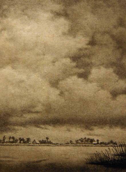 Zuider buitenspaarne met boerderij