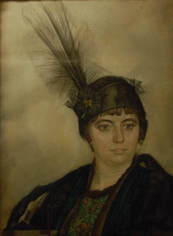 Portret van Mevrouw Boendermaker