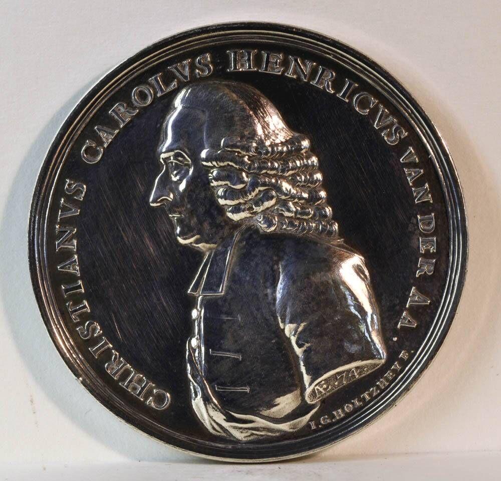 Gedenkpenning ter ere van Christianus Carolus Henricus van der Aa