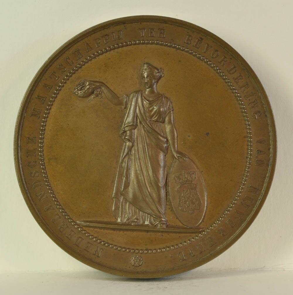 Gedenkpenning ter ere van het eeuwfeest van de Nederlandsche Maatschappij ter Bevordering van Nijverheid