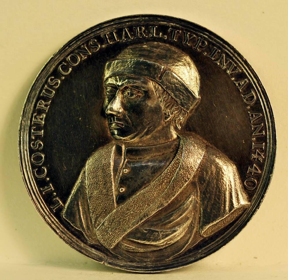 Gedenkpenning ter ere van het derde eeuwfeest van de uitvinding van de boekdrukkunst